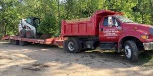 Preston Tree & Landscape Service Truck